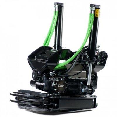 Steelwrist X20 rototiltti / pyörittäjä