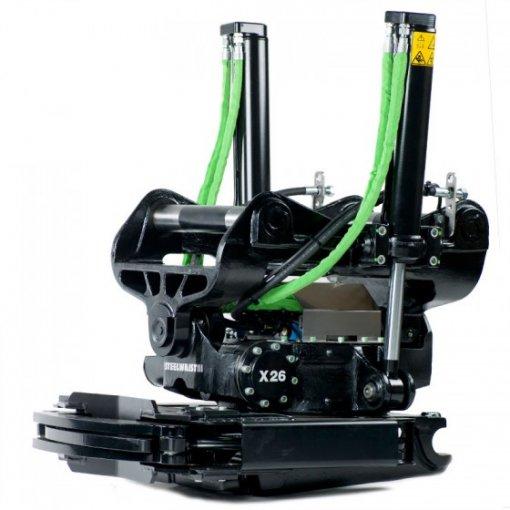 Steelwrist X26 rototiltti / pyörittäjä