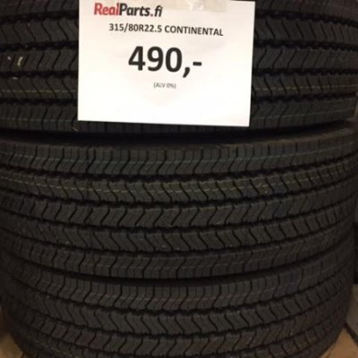 315/80R22.5 Continental rengas