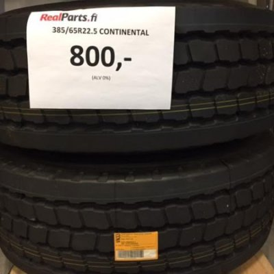 385/65R22.5 Continental rengas