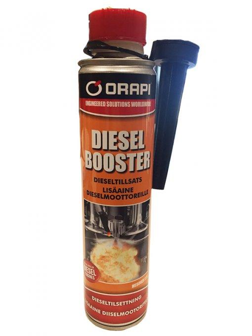 Orapi Diesel Booster lisäaine dieselmoottoreille 300ml