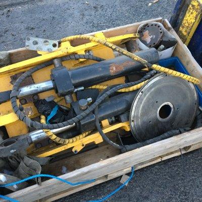 Rotoset RS23 osia korjattavaks (MM17-114)