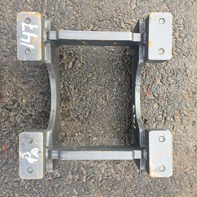 Hitsattava telaohjuri 417 X 390mm (MM17-147) uusi