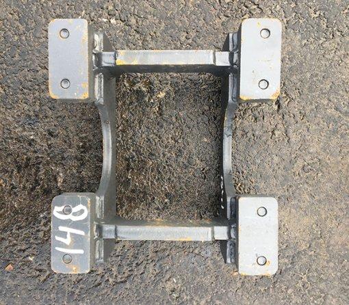 Hitsattava telaohjuri 385 X 347mm (MM17-148) uusi