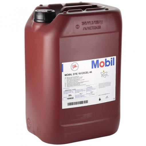 Mobil DTE 10 Excel 46 korkeapainehydrauliikkaöljy 20L