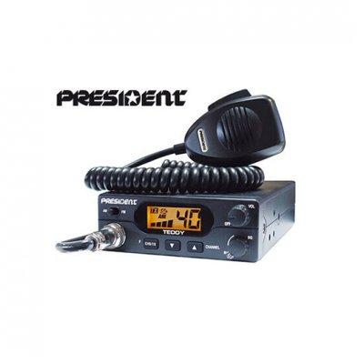 President Teddy CB-radiopuhelin