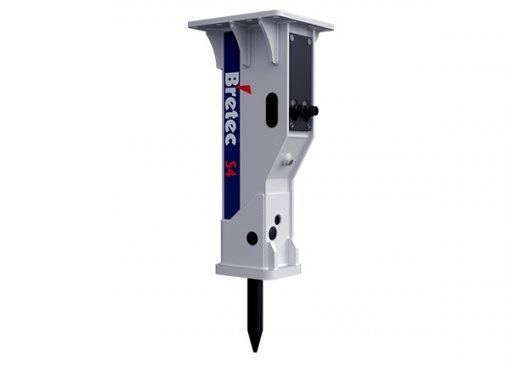 Bretec Hydraulivasara / iskuvasara S4 konekoko 3-5,5 tn