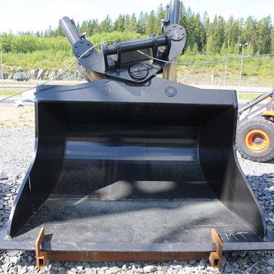 Karvian Metalli ja Kone Oy Kallistuva luiskakauha NTP20/30 2000mm