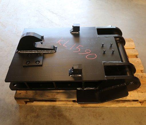 Iskuvasaran kiinnikelevy NTP40 (KL1590) käytetty