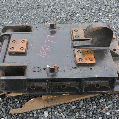 Iskuvasaran kiinnikelevy NTP40 (KL1591) käytetty