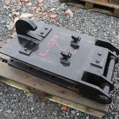 Iskuvasaran kiinnikelevy NTP20/30 (KL1597) käytetty