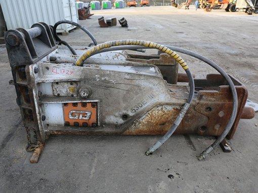 GB 600E iskuvasara (KL1727) käytetty