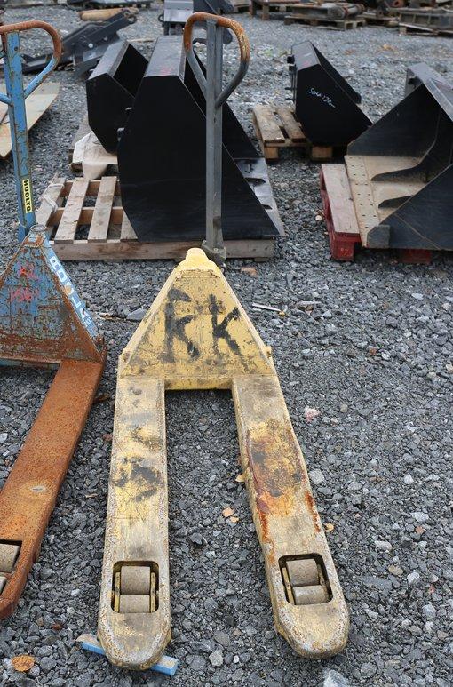 Pumppukärryt (KL1560) käytetty
