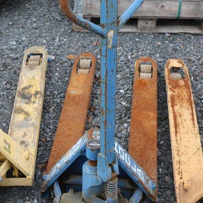 Pumppukärryt (KL1561) käytetty