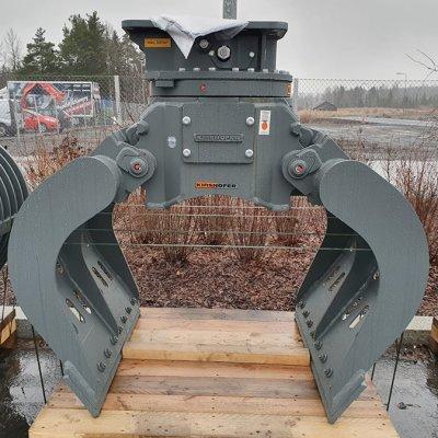 Kinshofer D24H-P Purkukoura pyörittäjällä 650L 1000mm