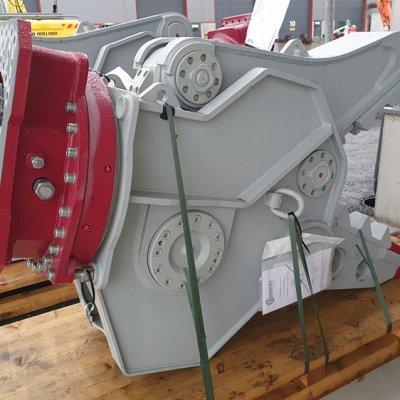 Demarec DRP30 Pulveroitsija pyörittäjällä 150t 2,0/2,3s