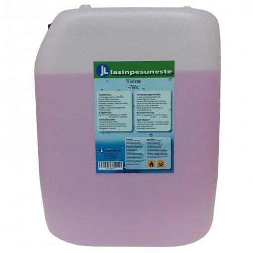JL-Tuotteet Lasinpesuneste -70°C 8 x 25 ltr (rahtivapaasti)
