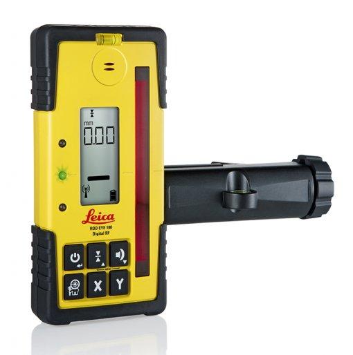 Leica Rod Eye 180 Digital RF vastaanotin kiinnikkeellä