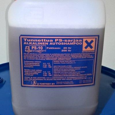 JL-Tuotteet Autoshampoo PS-10 alkalinen 8 x 20 ltr (rahtivapaasti)