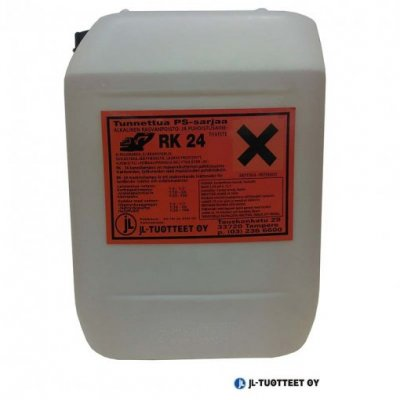JL-Tuotteet Rasvanpoisto- ja puhdistusainetiiviste RK-24 alkalinen 7 x 25 ltr (rahtivapaasti)