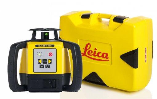 Leica Rugby 640G pyörivä laser ja kuljetuslaukku
